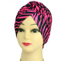 Adult Zebra Striped Hat -