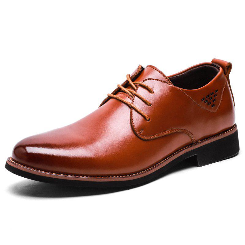 Buy Men's Formal Leather Shoes Business Rubber Sole