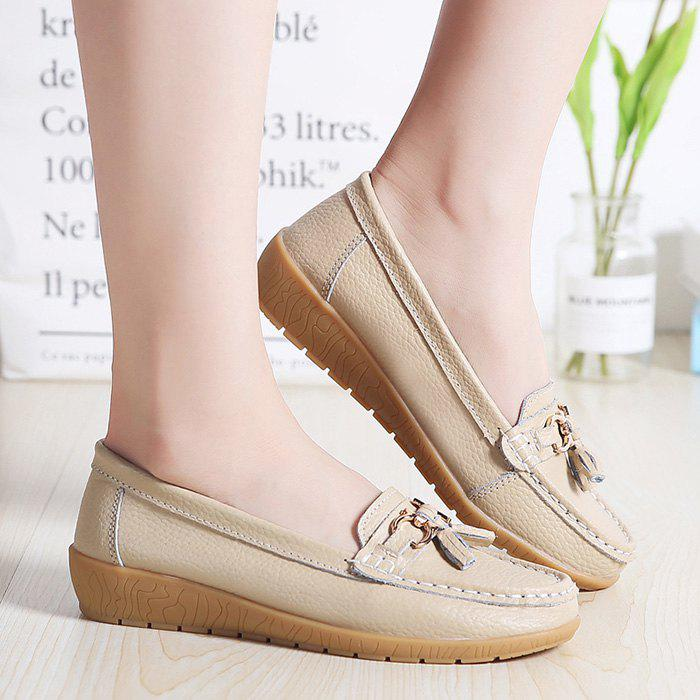 Discount Female Wild Soft Warm Peas Shoes