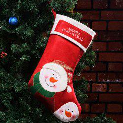 Decorations Christmas Candy Bags Old Man Snowman Socks Pendant -