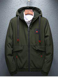 8826 - A109 - 1 Winter Short Trend Thick Cotton Clothing Korean Men Warm Casual Jacket -
