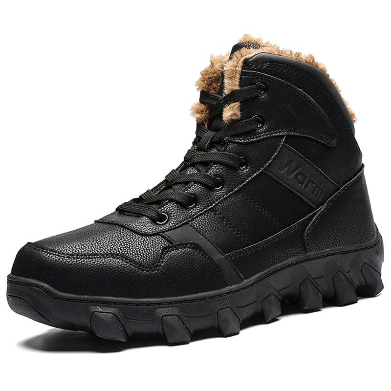 Chic Men Outdoor Warmth Skid-resistant High-top Boots