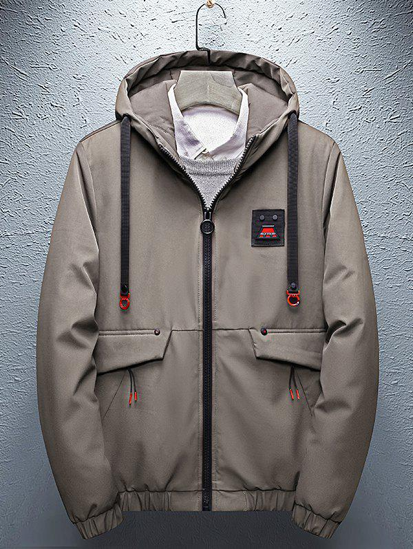 Chic 8826 - A109 - 1 Winter Short Trend Thick Cotton Clothing Korean Men Warm Casual Jacket