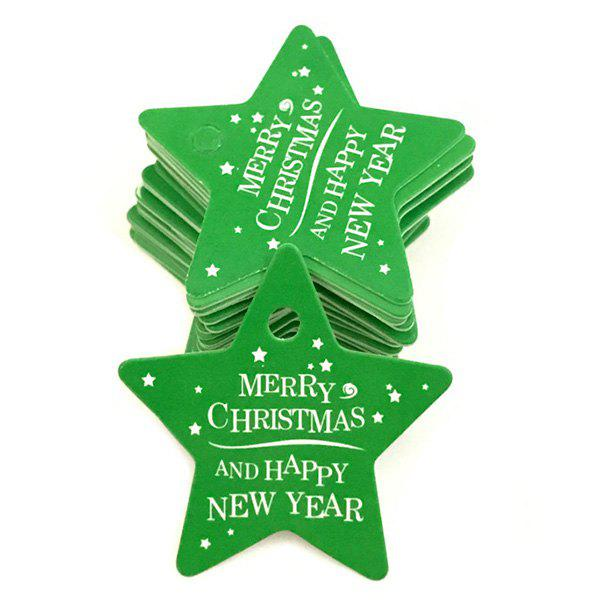 Store Christmas Baking Card Tag 100pcs