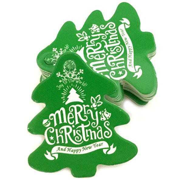 Outfit Christmas Baking Card Tag 100pcs