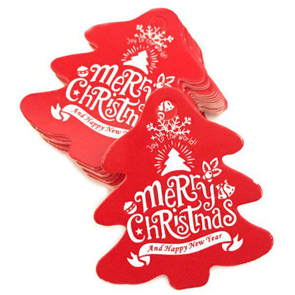 Latest Christmas Baking Card Tag 100pcs