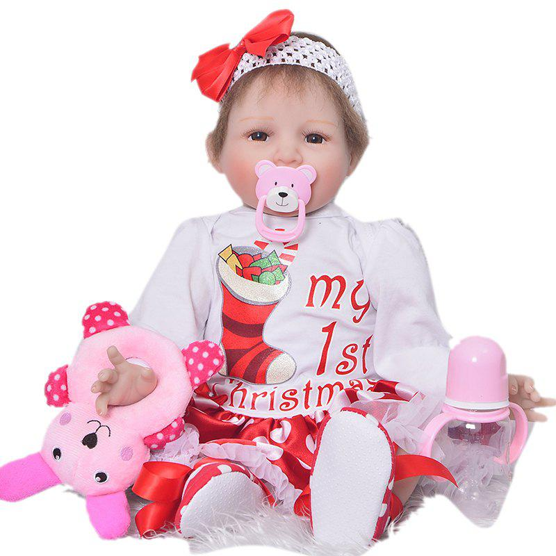 KEIUMI 22 Inch Rebirth Baby Doll Toy Gift