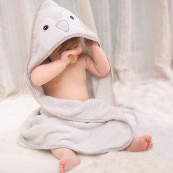 Baby Hooded Bath Towel Cartoon Cloak 85 x 85cm -