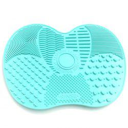 Silicone Makeup Brush Wash Pad with Suction Cup Anti-skid Beauty Cleaning Tool -