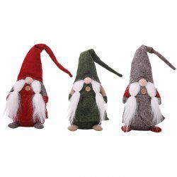 Christmas Decorations Faceless Old Man Dolls -