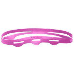 Silicone Wrinkle Beauty Belt Skin Stretch Fades Fine Lines Muscle Stretching Strap -