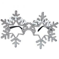 Christmas Party Funny Decoration Snowflake Glasses -