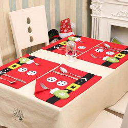 Christmas Home Decoration Table Placemat -