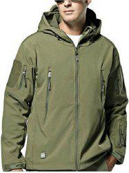 Trendy Waterproof Breathable Soft Shell Jacket -