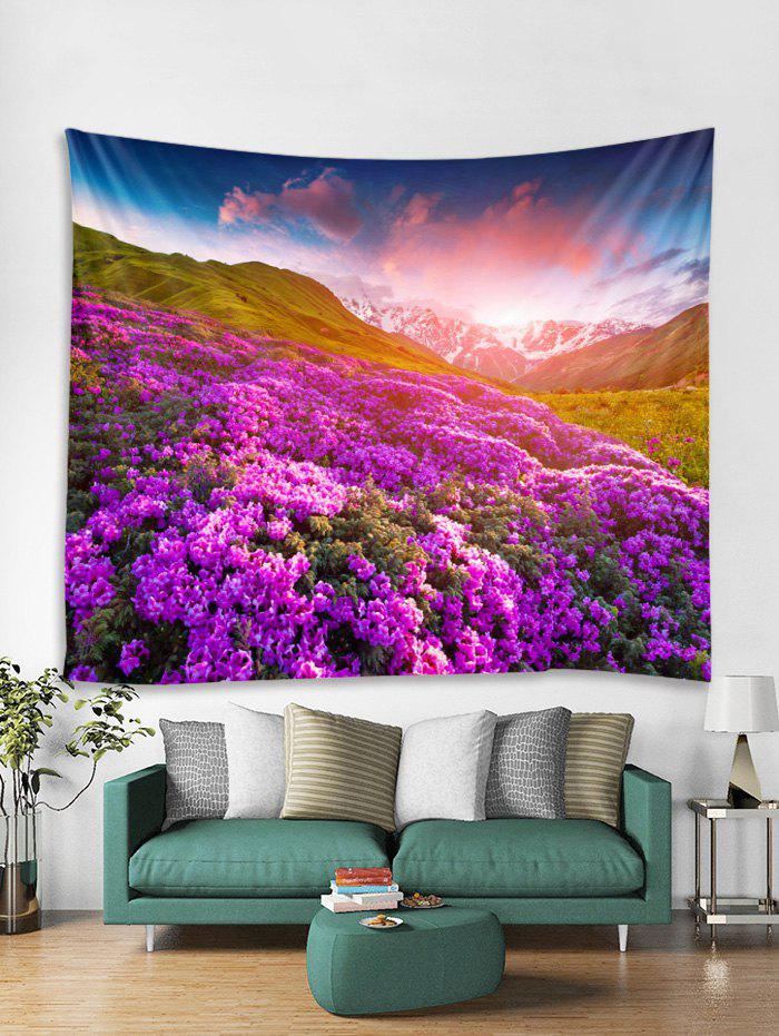 Fashion Lavender Print Tapestry Art Decoration