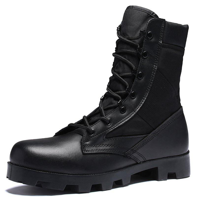 Online Men Outdoor Comfortable Leisure High-top Boots