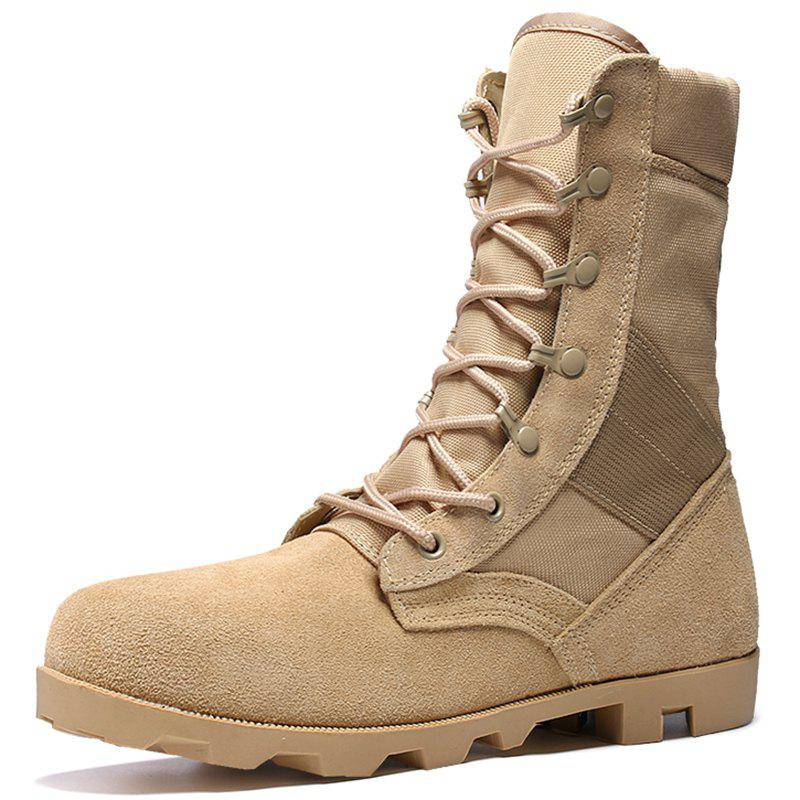 New Men Outdoor Comfortable Leisure High-top Boots