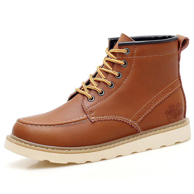 Latest Men Outdoor Comfortable High-top Boots