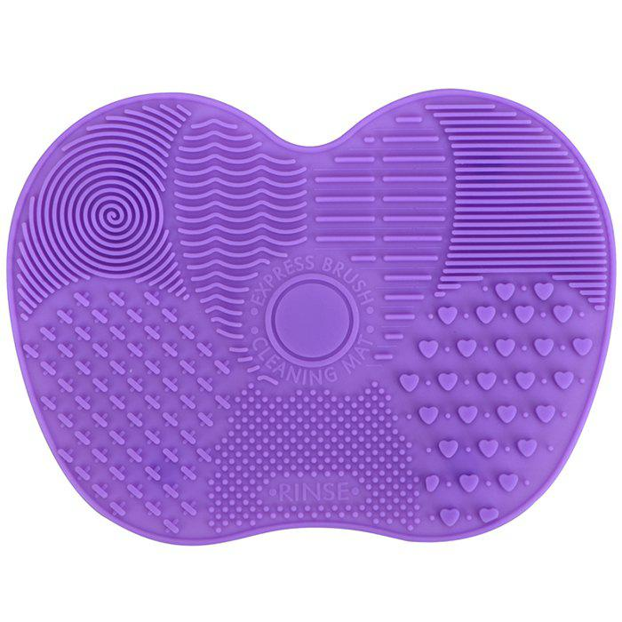 Buy Silicone Makeup Brush Wash Pad with Suction Cup Anti-skid Beauty Cleaning Tool