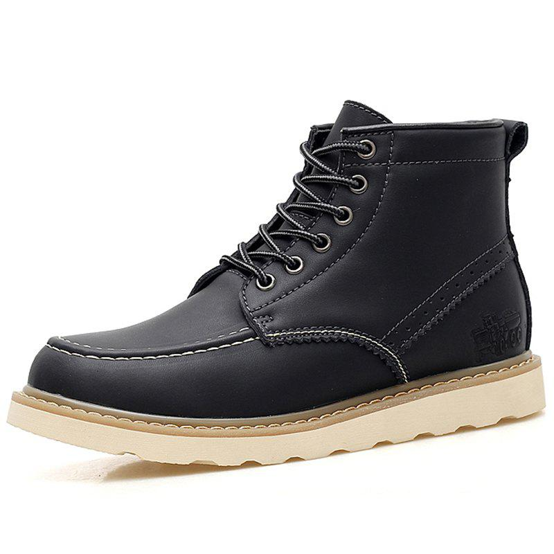 Chic Men Outdoor Comfortable High-top Boots