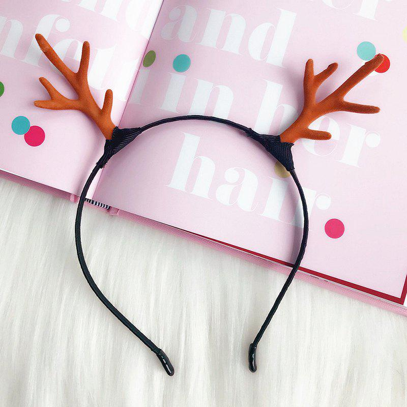 Online Christmas Bride Photo Hairpin Ornament Antler Decorative Hair Ring