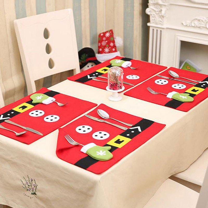 Fashion Christmas Home Decoration Table Placemat