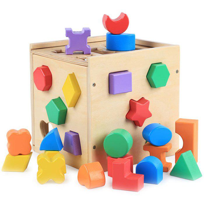 2019 Intelligence Box Young Children Geometric Matching Building