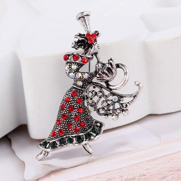 Unique Fashion Animal Cartoon Cute Christmas Brooch