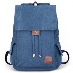 Canvas Student Travel Simple Backpack -