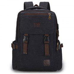 Men's High School Students Large-capacity Backpack -