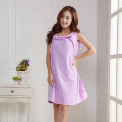 Wearable Thickened Changeable Warm Lunch Break Dress Bath Towel -
