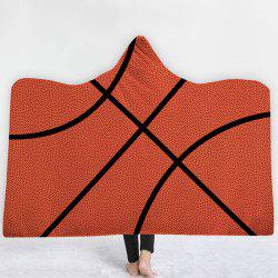 Hooded Blanket Cloak Hat Home Children Thick Rugby Series -