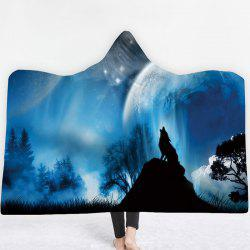Thick Double-layer Plush 3D Digital Printing Blanket -