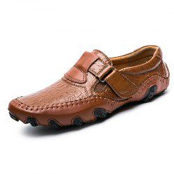 Men Comfortable Slip-on Driving Flat Shoes -
