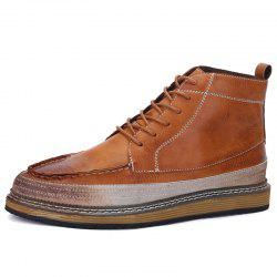 Men Casual Comfortable Lace-up Leisure Shoes -