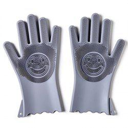 Multi-functional Silicone Decontamination Non-stick Oil Cleaning Gloves -