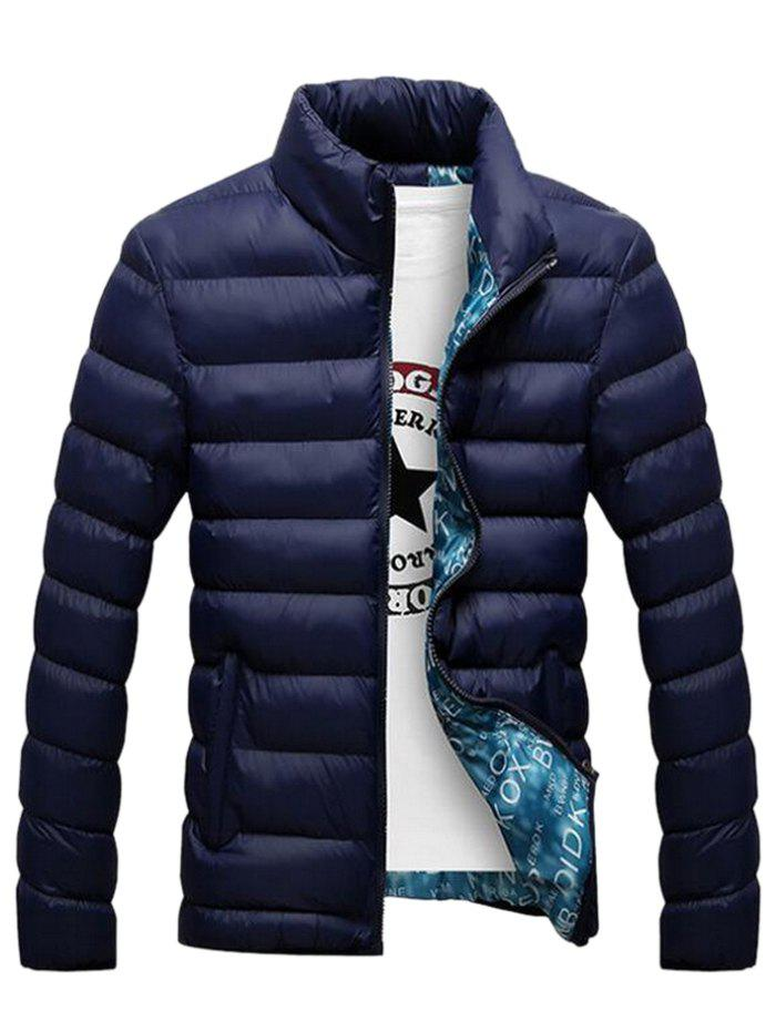 Hot SYWT0193 Stand Collar Down Jacket Warm Coat