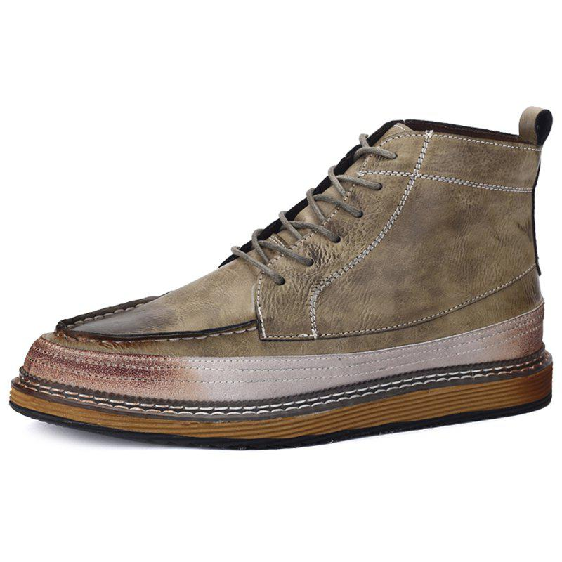 Affordable Men Casual Comfortable Lace-up Leisure Shoes