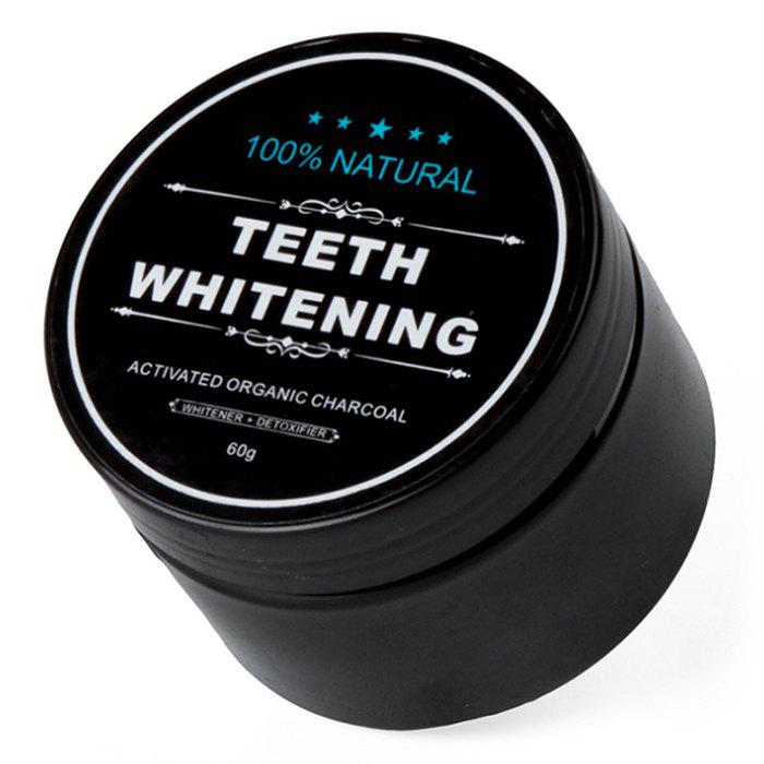 60g Activated Carbon Whitening Oral Cleansing Coconut Shell Mint Toothpaste