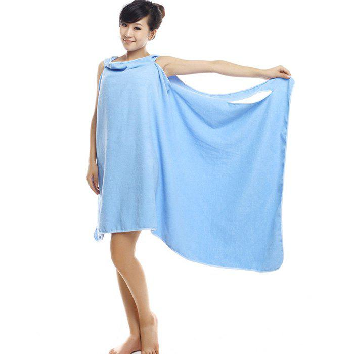 Outfit Wearable Thickened Changeable Warm Lunch Break Dress Bath Towel
