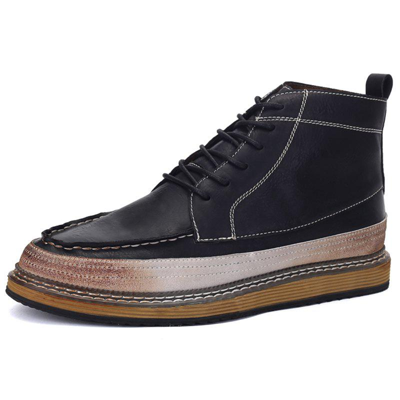 Latest Men Casual Comfortable Lace-up Leisure Shoes