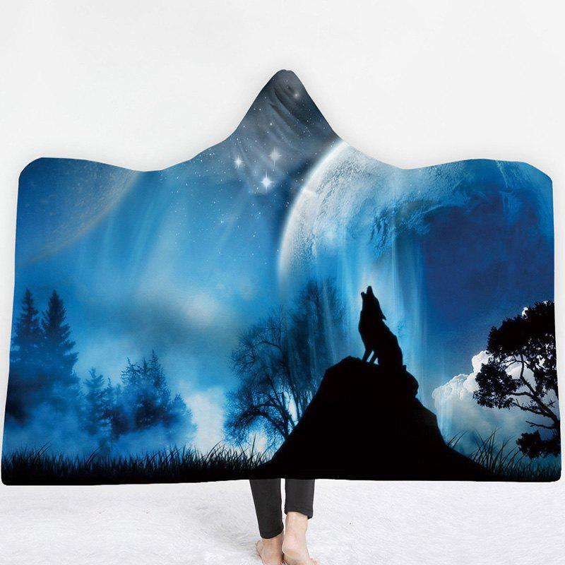 Shop Thick Double-layer Plush 3D Digital Printing Blanket
