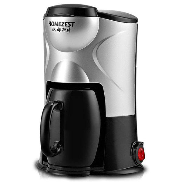 Online HOMEZEST CM - 801 Household Portable Tea Maker Ceramic Cup Small Drip Coffee Machine