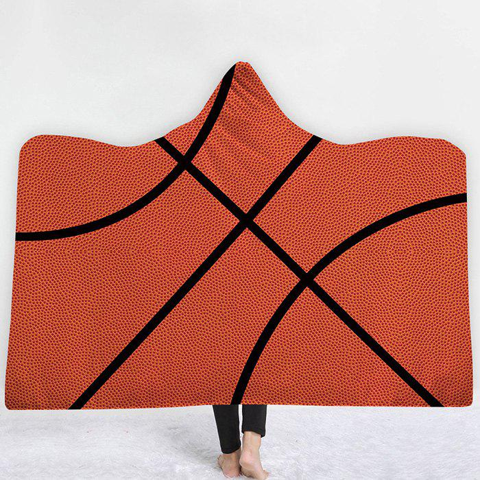 Unique Hooded Blanket Cloak Hat Home Children Thick Rugby Series