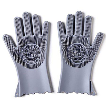 Shops Multi-functional Silicone Decontamination Non-stick Oil Cleaning Gloves
