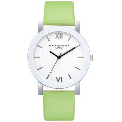 Lvpai P677 Simple Business Quartz Watch -