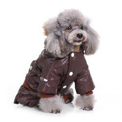 Air Force Suits Four-legged Winter Pet Dog Clothes -