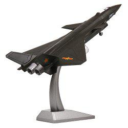 Alloy 1:72 J-20 Aircraft Military Simulation Five Generation Machine Model -