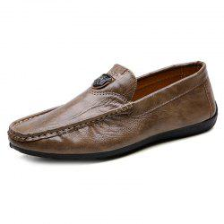730 Four Seasons Primary Color Leather Doug Shoes for Men -