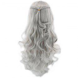 Braided Long Curly Hair Cosplay Wig -